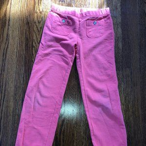Girls Coral Gymboree Joggers